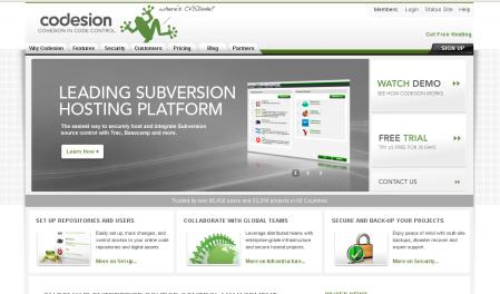 Codesion web site